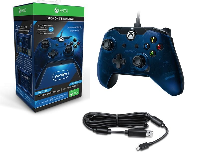 Americké ovladače PDP pro PC a Xbox pdpblue