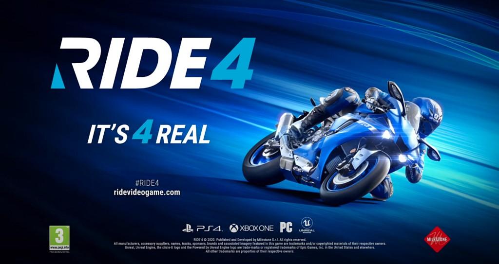 RIDE 4 oznámeno i na PS5/XSX ride4promo