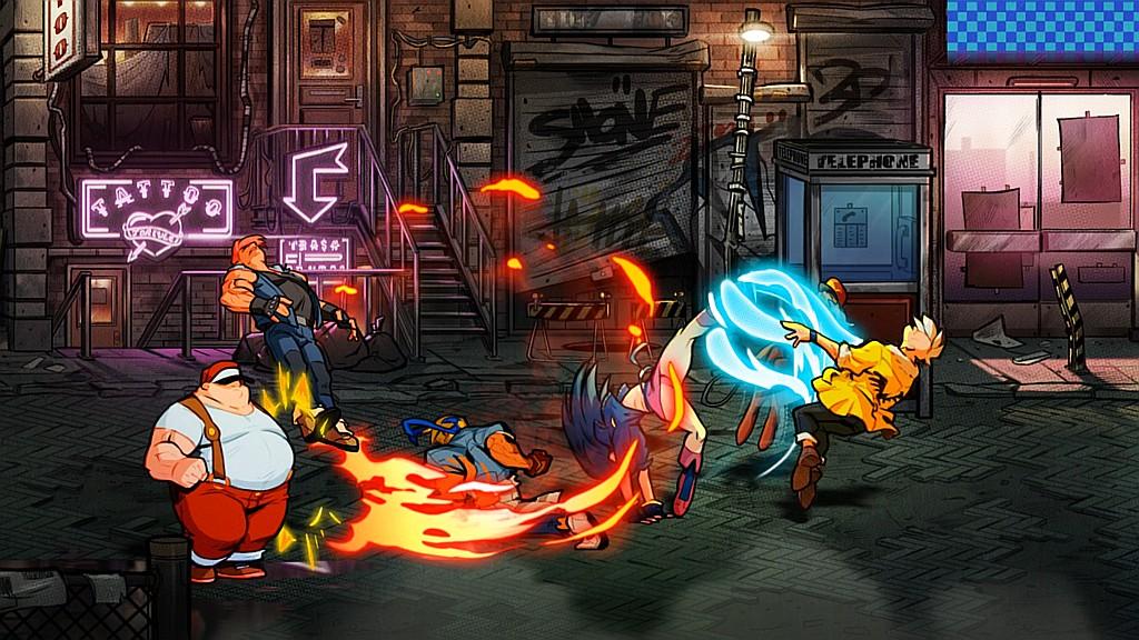 Streets of Rage 4 jde bojovat streetsofrage4scstr