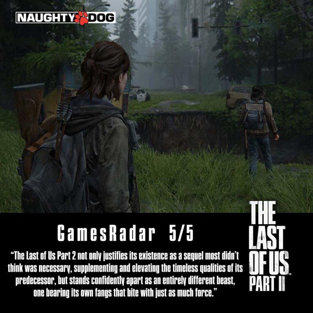 Přehled recenzí The Last of Us Part II ze světa 1 3