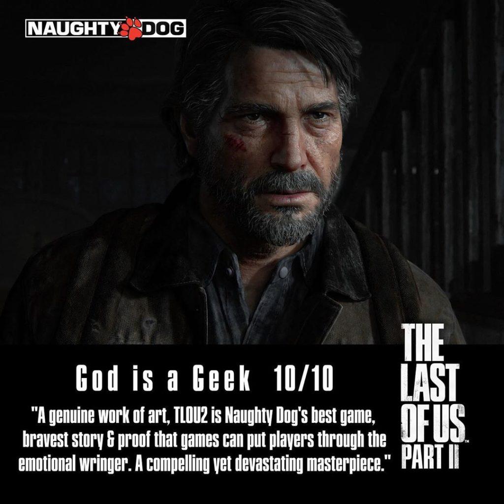 Přehled recenzí The Last of Us Part II ze světa 7 1