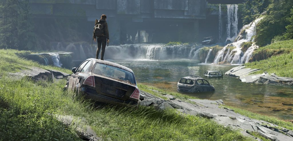 Dojmy z hraní The Last of Us Part II Seattle Waterfall Hub the last of us 2 naughty dog