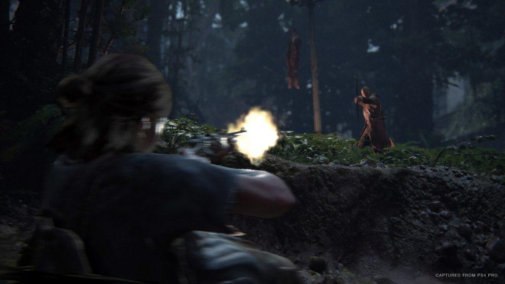 Akční scéna ze hry