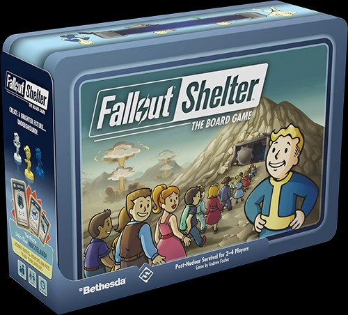 Fallout: Shelter vyšel jako deskovka falloutshelterb01