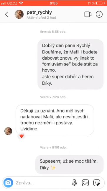 Petr Rychlý zřejmě třetím dabérem Mafia: DE unknown 1
