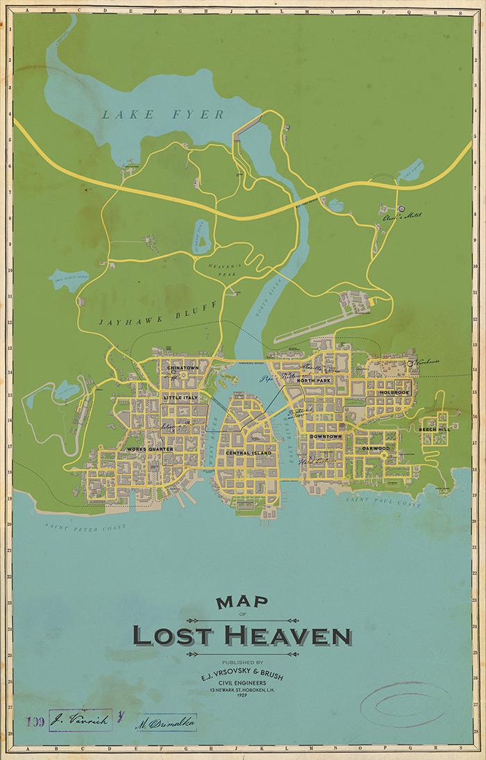Změny města Lost Heaven v definitivní edici hry Mafia Lost Heaven