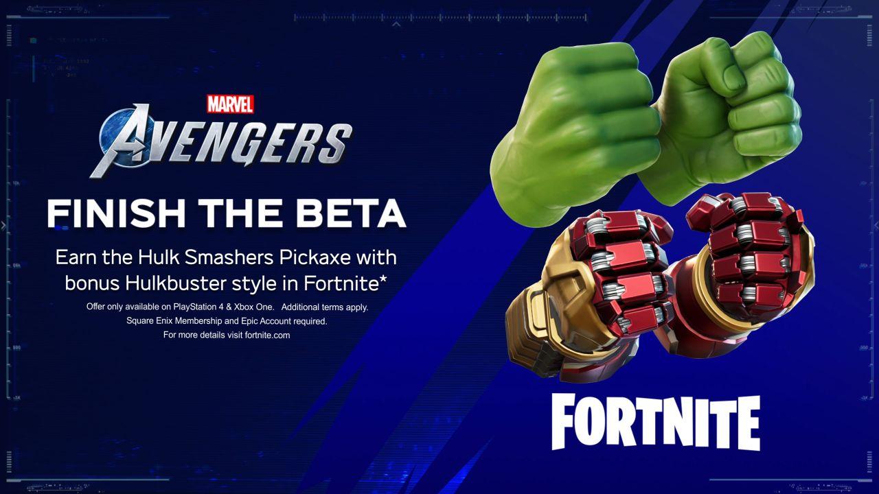 Do Marvel's Avengers po vydání přibude Hawkeye Marvel s Avengers Fortnite Beta Image
