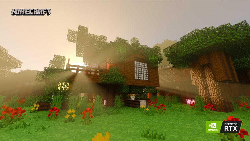 GeForce RTX dva roky poté MinecraftRTX