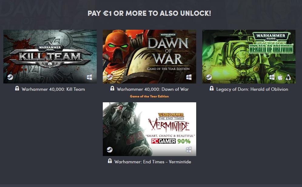 Výhodná kolekce her pro fanoušky Warhammeru Warhammer 1