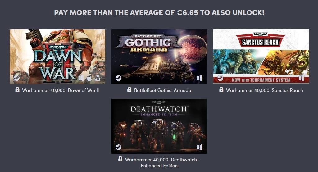 Výhodná kolekce her pro fanoušky Warhammeru Warhammer 2
