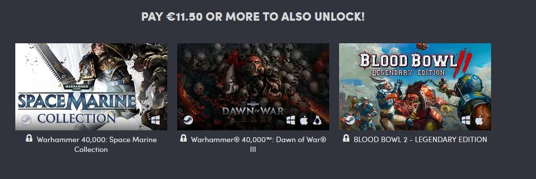Výhodná kolekce her pro fanoušky Warhammeru Warhammer 3
