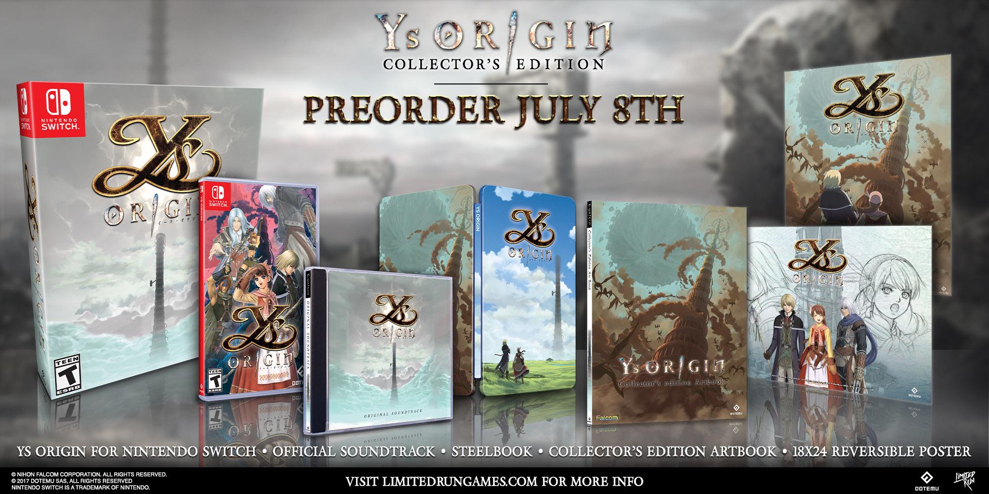 Sword Art Online: Alicization Lycoris ve startovním traileru a Ys Origin na Switchi Ys Origin NSW 07 07 20