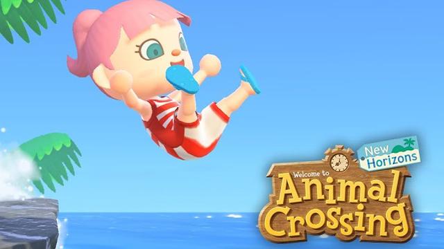 Nová porce obsahu v Animal Crossing: New Horizons animal crossing new horizons free summer update swimming diving