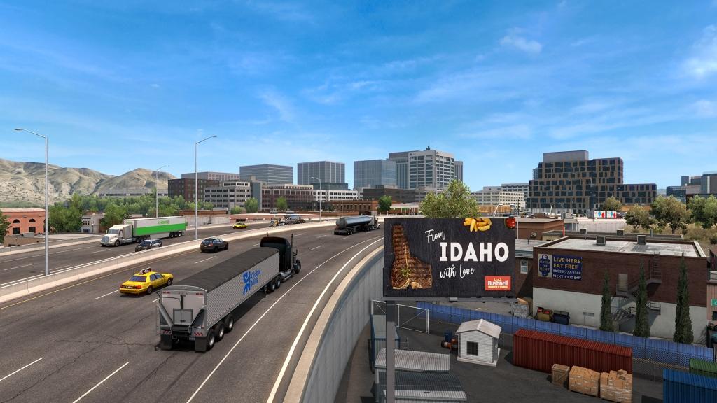 Idaho pro American Truck Simulator atsidahodlcofsc