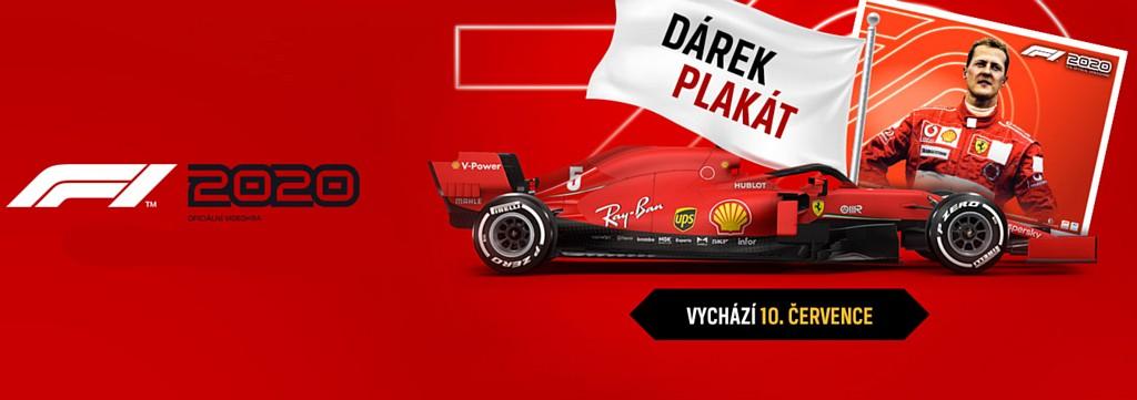 Již zajíždíme nové F1 2020