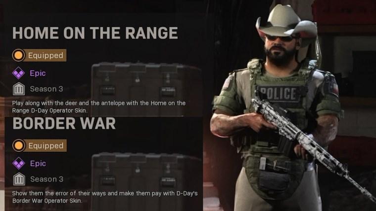 Infinity Ward přejmenovali v Call of Duty: Warzone kontroverzní skin warzone skin