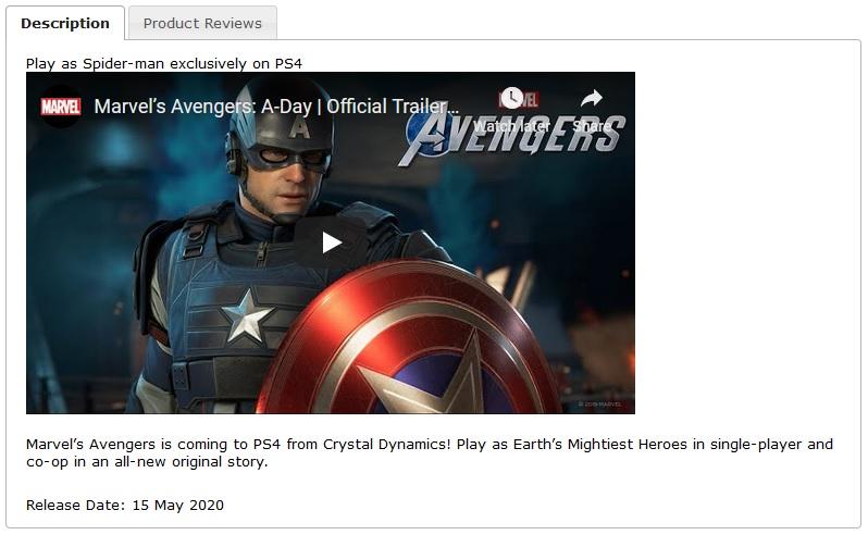 Hra Marvel's Avengers možná zahrne i Spider-Mana