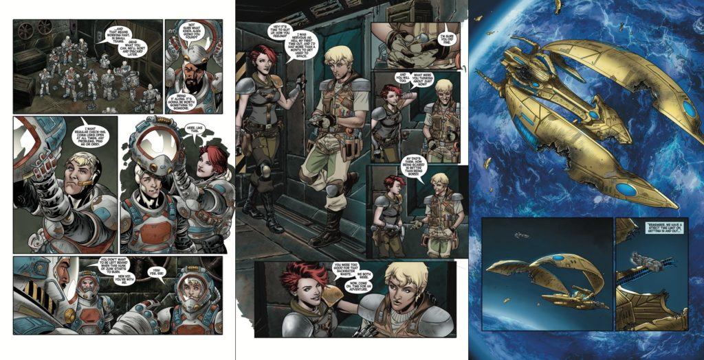 Komiks: StarCraft Volume 1 - Scavengers 3002058p3horz