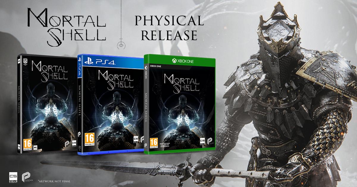 Mortal Shell bude mít i fyzické vydání Fyzické kopie