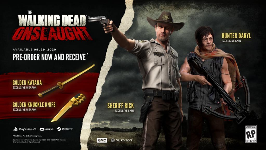VR opět obohatí hra ze světa The Walking Dead