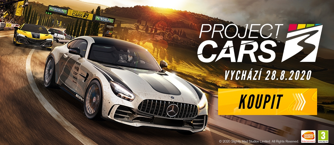 Recenze Project CARS 3