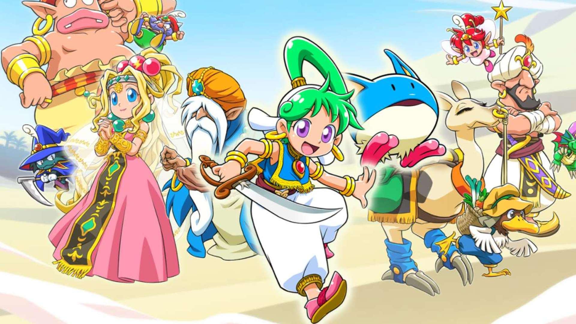 Ukázka z The Legend of Heroes: Hajimari no Kiseki a obrázky z SMTIII: Nocturne HD wonder boy asha in monster world