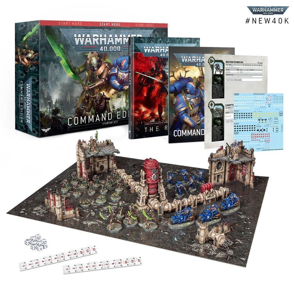 Nové herní sety Warhammer 40,000 pro začátečníky
