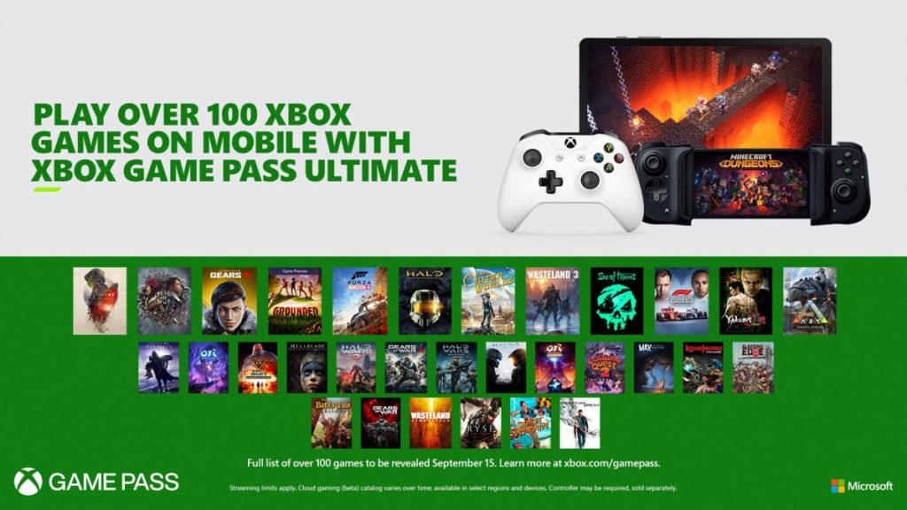 Díky xCloudu si zahrajeme Xbox hry na mobilu už v září xgpu