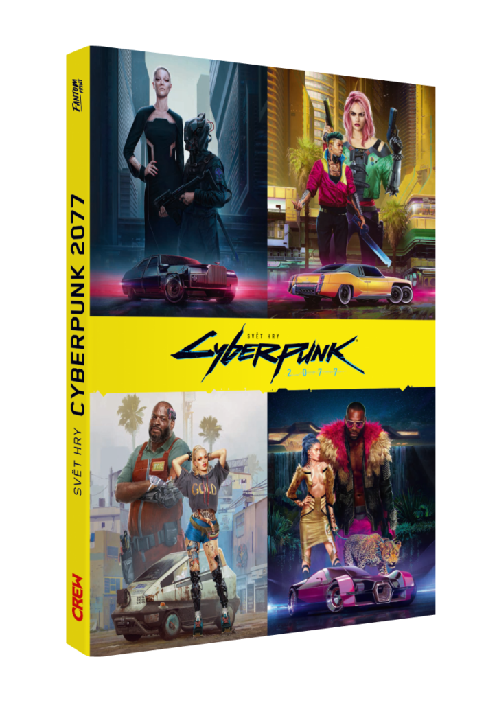 Svět hry Cyberpunk 2077 - exkluzivní ukázka z knihy Cyberpunk 2077 B