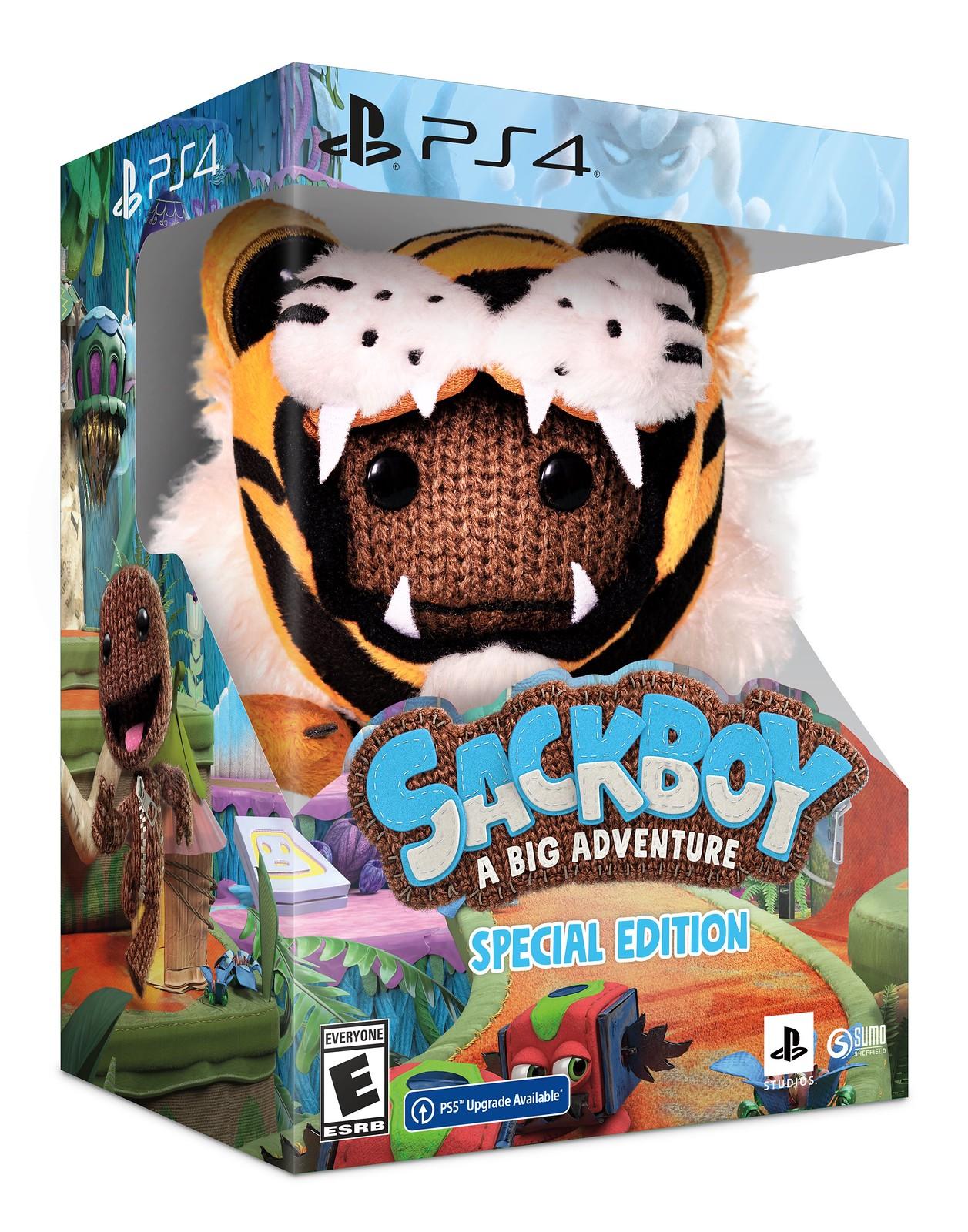 Sackboy: A Big Adventure - edice a nová ukázka Fyzická