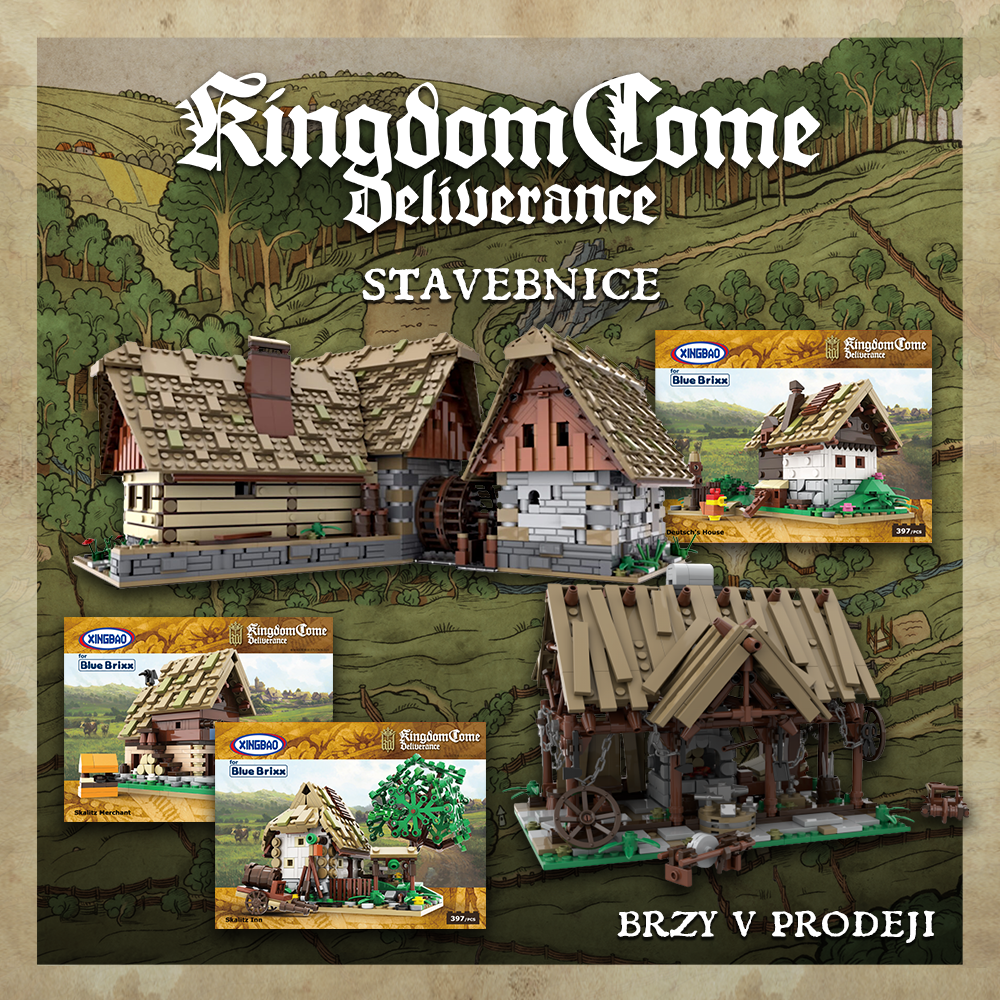 Vychází stavebnice Kingdom Come: Deliverance KCDSTAVEBNICE FB