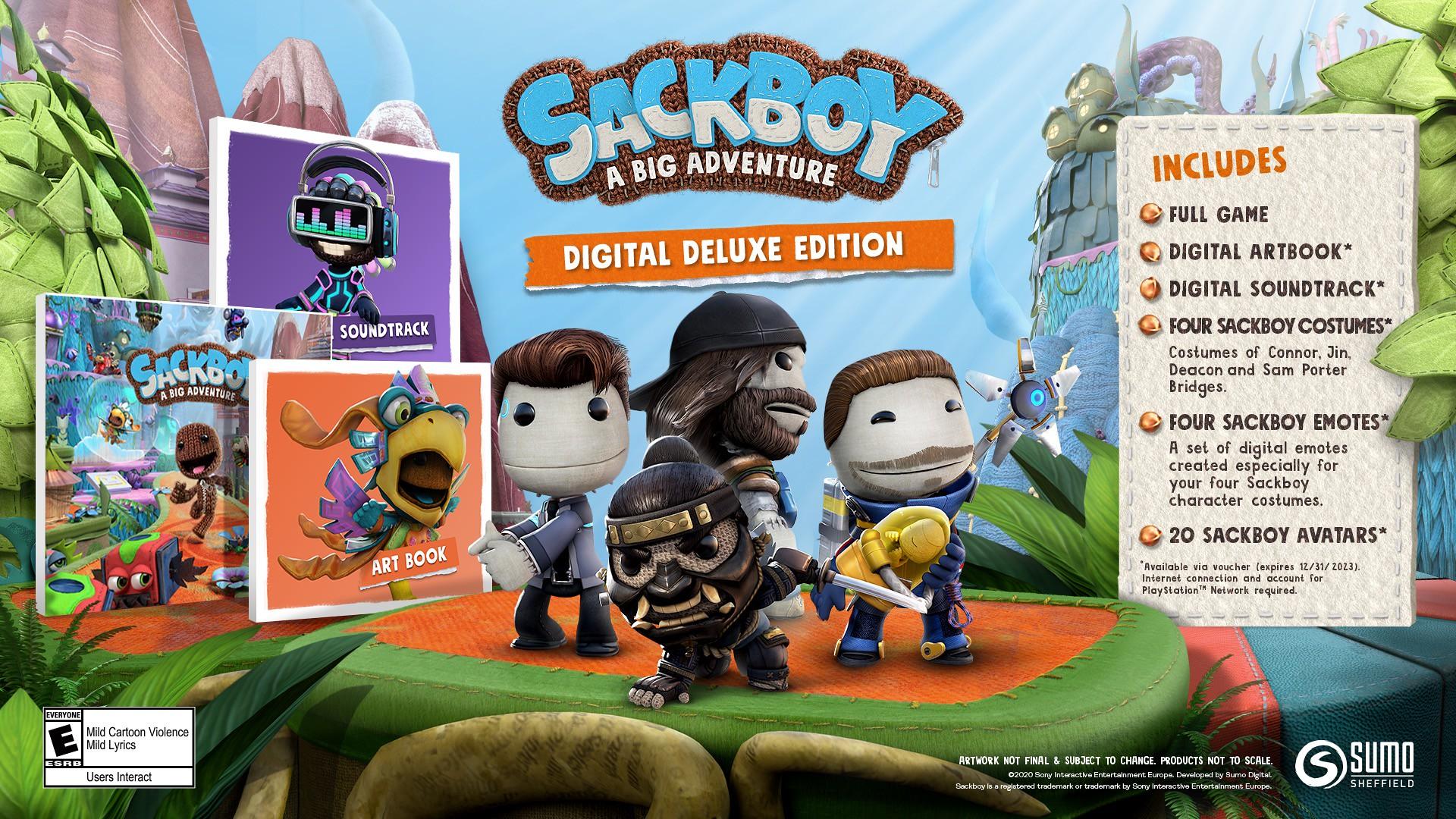 Sackboy: A Big Adventure - edice a nová ukázka Limited