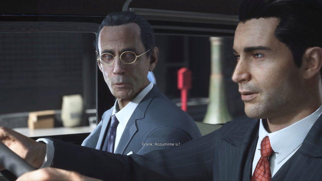 Recenze - Mafia: Definitivní edice mafiadabing