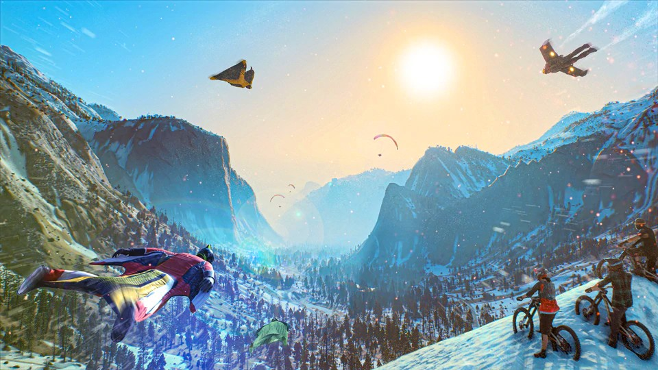 Riders Republic je nástupce Steep ridersrepublicartwint