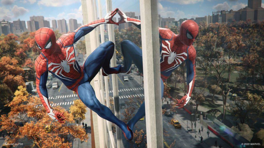 První ukázka z Marvel's Spider-Man Remastered spidermanremasterPS5