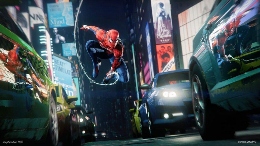 První ukázka z Marvel's Spider-Man Remastered spidermanremasterPS5 2
