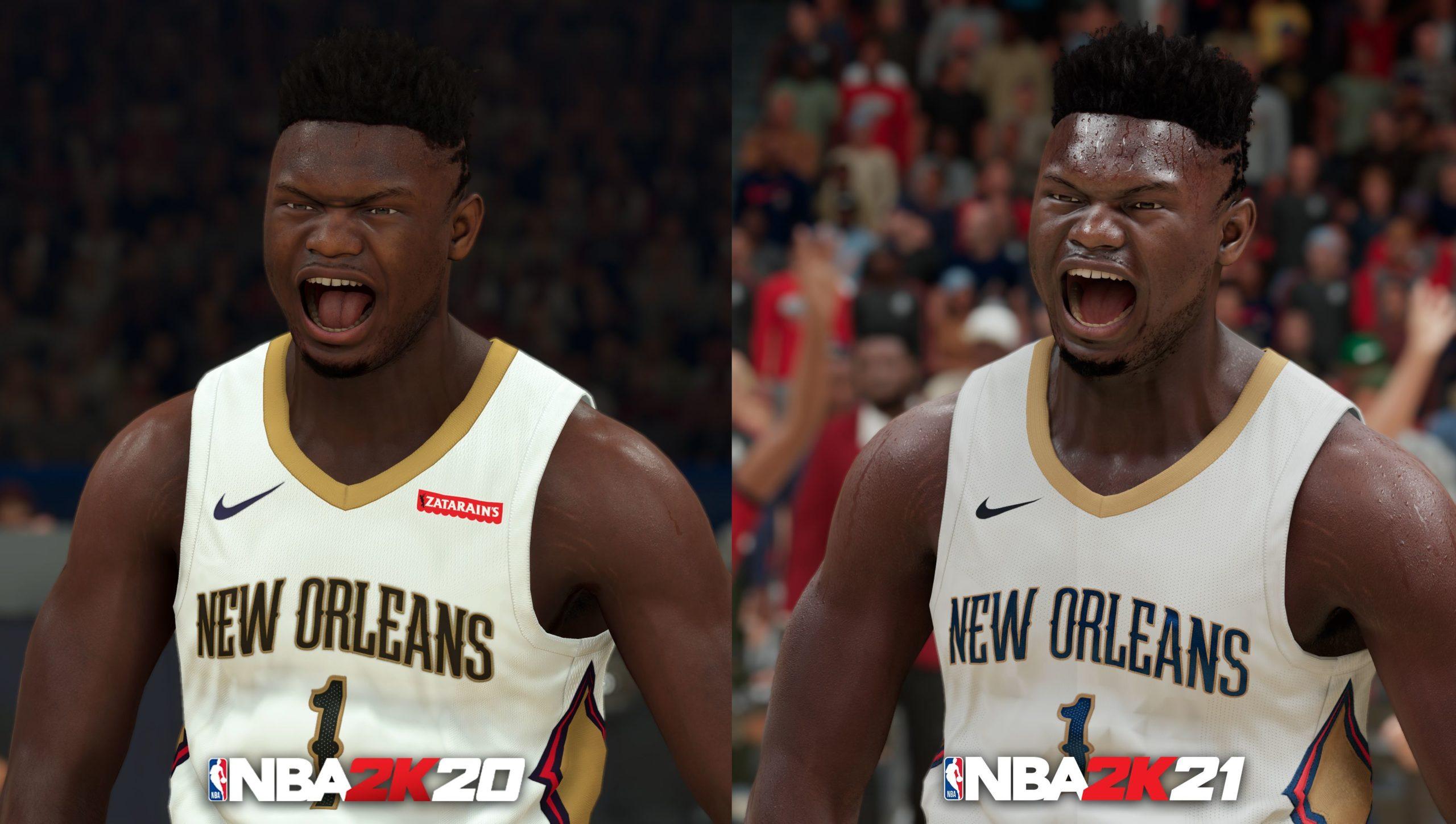 NBA 2K21 v next-gen ukázce NBA 20 vs 21 scaled