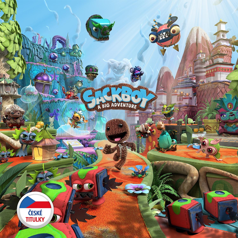 Sackboy: A Big Adventure bude v češtině Sackboy