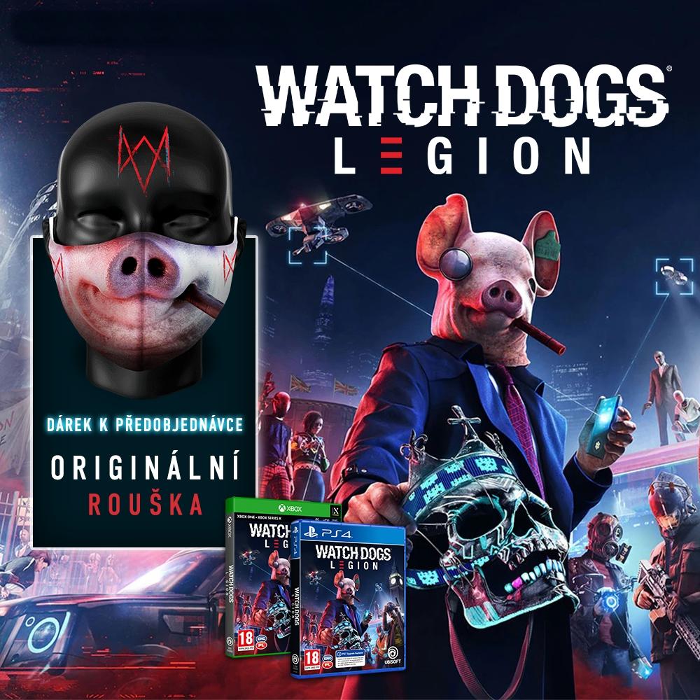 Do odboje Watch Dogs Legion s dárkem WDLEGION zing
