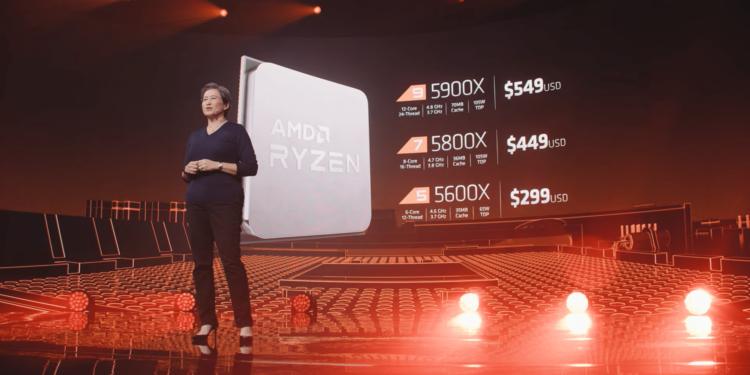 Představeny procesory Ryzen 5000 amdcenyyyy min