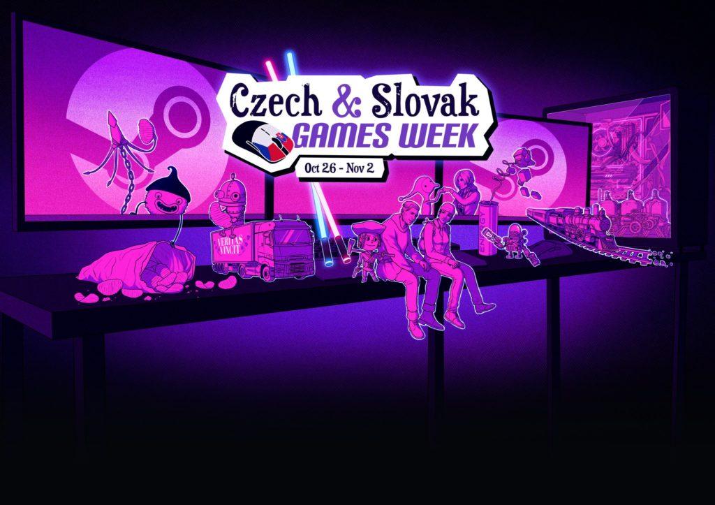 Slevová akce českých a slovenských her na Steamu czsteam
