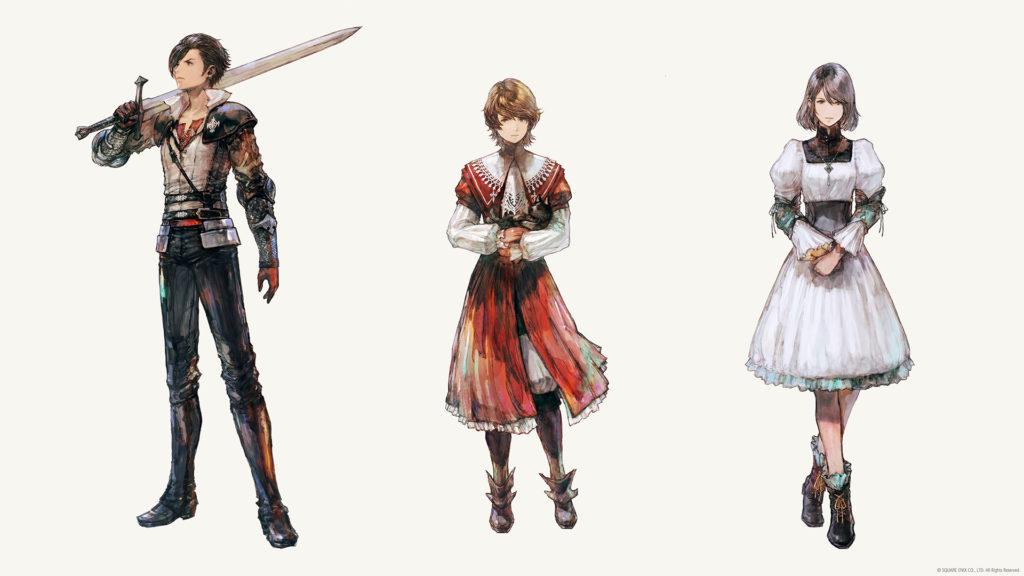 Final Fantasy XVI: Oficiální web a novinky ff16postavy