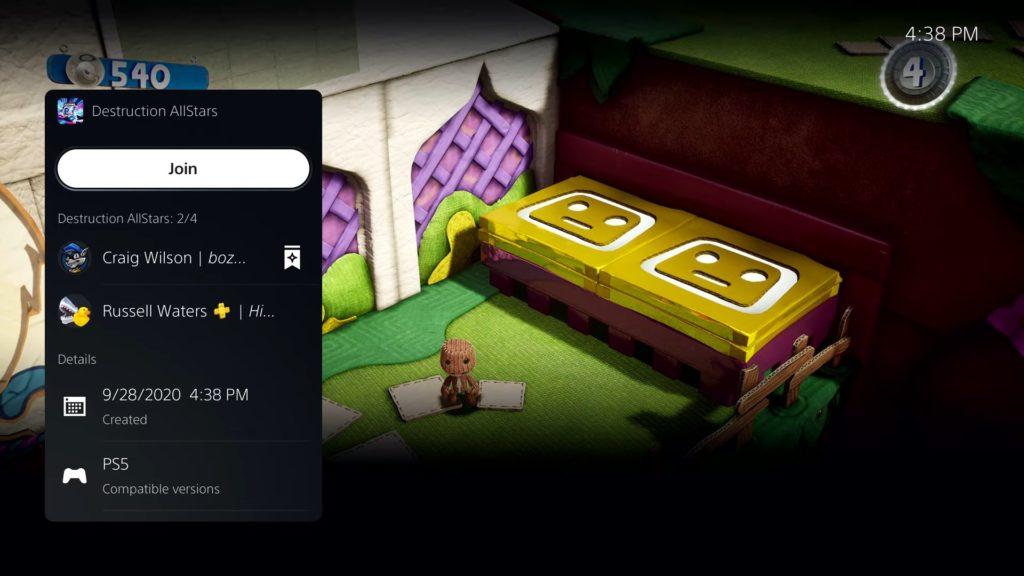 Oficiální odhalení menu PlayStation 5 ps5menu5