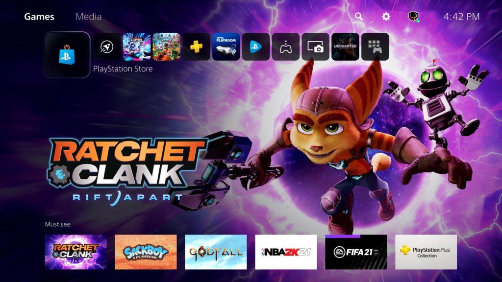 Oficiální odhalení menu PlayStation 5 ps5menu6