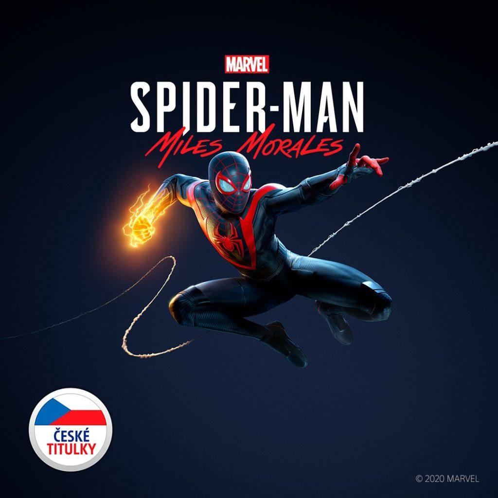 Potvrzena česká lokalizace pro Spider-Man: Miles Morales spidercz
