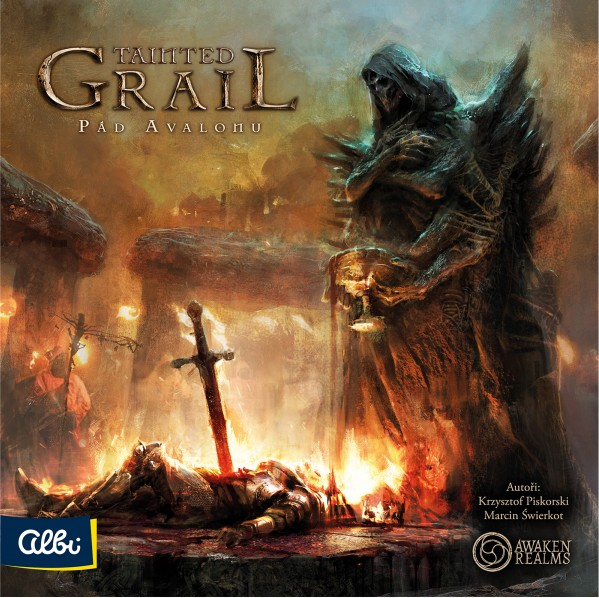 Tainted Grail na počítači i na stole