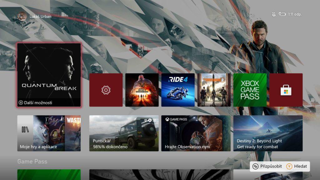 Konzole Xbox dnes dostaly české a slovenské rozhraní xboxCZSK1