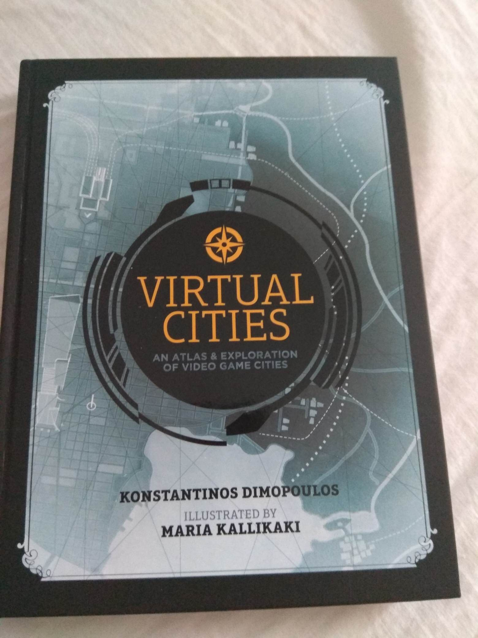 Recenze knihy Virtual Cities: An Atlas & Exploration of Video Game Cities 126191210 1522069937984859 7550998269402955207 n