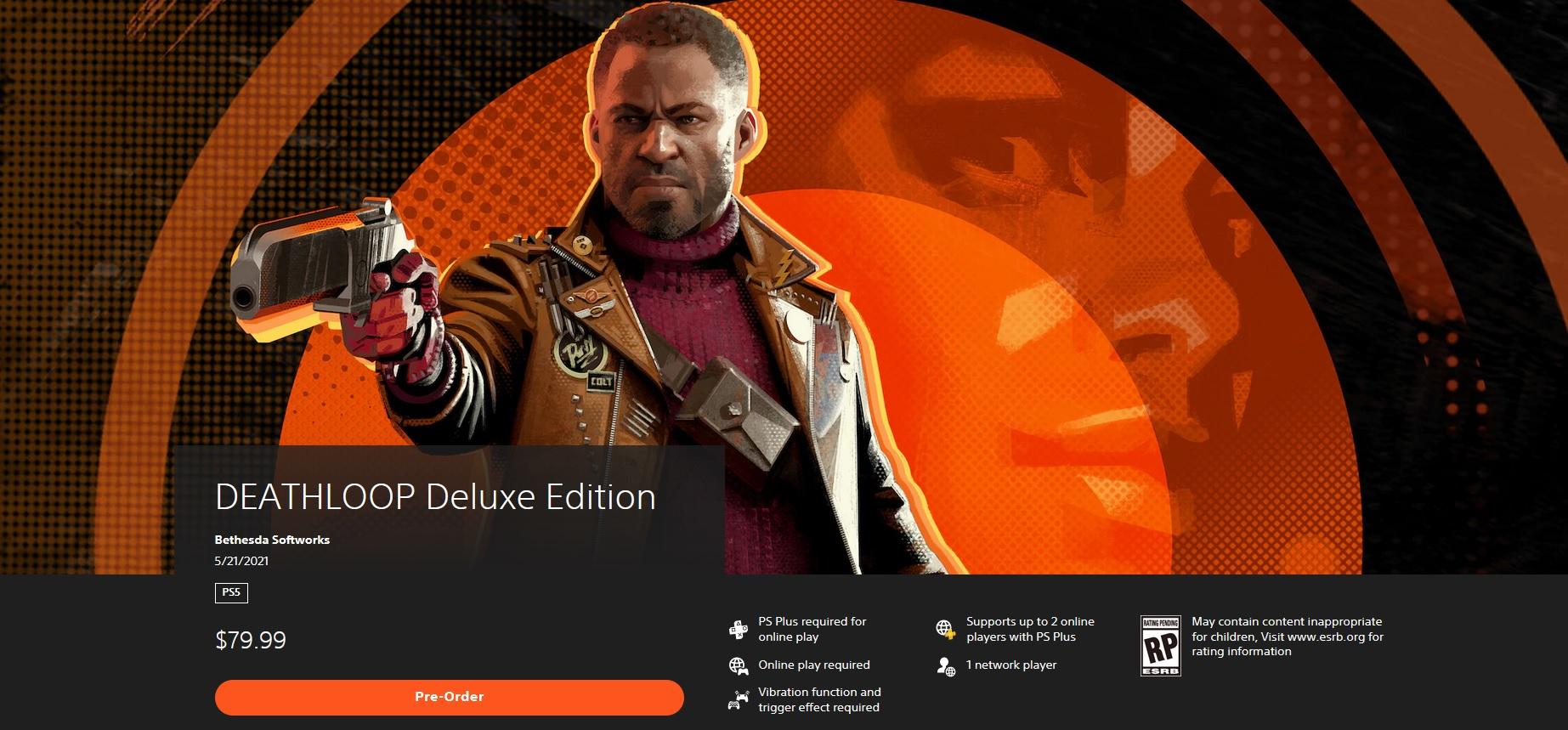 PlayStation Store odhalil datum vydání Deathloop