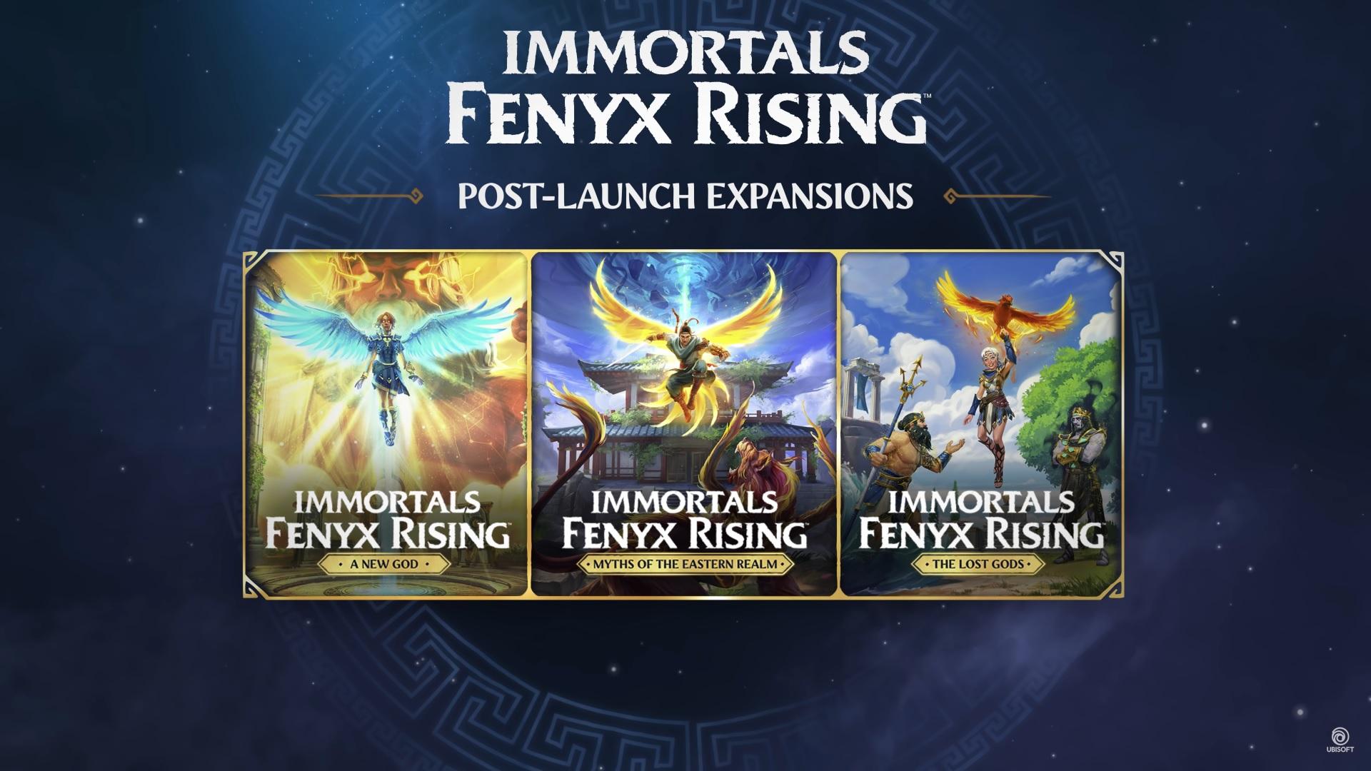 Immortals Fenyx Rising se dočká bohatého obsahu po vydání